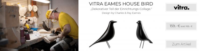 Vitra Eames House Bird schwarz