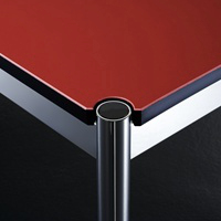 Oberfläche Linoleum rot