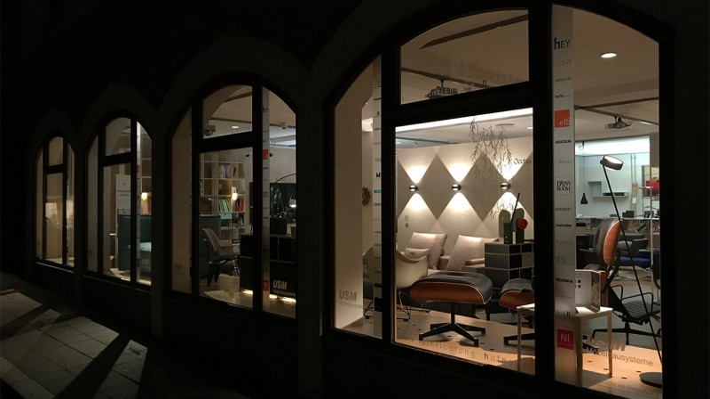 Inneneinrichtung Hufnagel - einfach schöner wohnen | USM Haller, Vitra, Occhio, COR, usw.