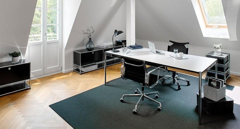 USM Haller Home Office Schreibtisch Sideboards Rollcontainer