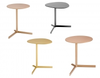 Möller Design Birdy Beistelltisch Ø 40 cm & H 53 cm Metall lackiert