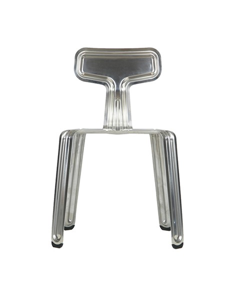 Nils Holger Moormann Stuhl Pressed Chair unbehandelt
