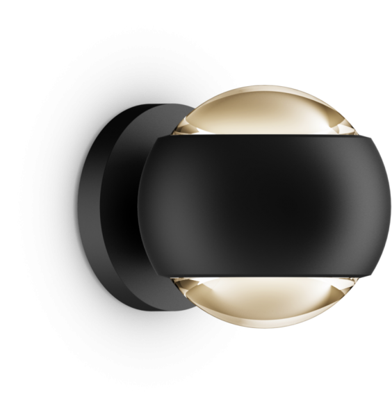 Occhio io verticale Volt D LED Air-Steuerung Wandleuchte schwarz matt