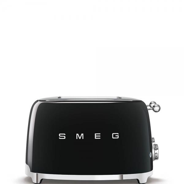 SMEG Retro-Style 4-Scheiben-Toaster TSF03BLEU schwarz
