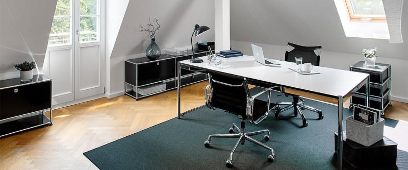 USM Haller Home Office Lösung