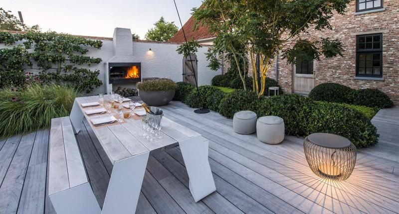 Extremis Hopper Outdoormöbel Sitzgruppe