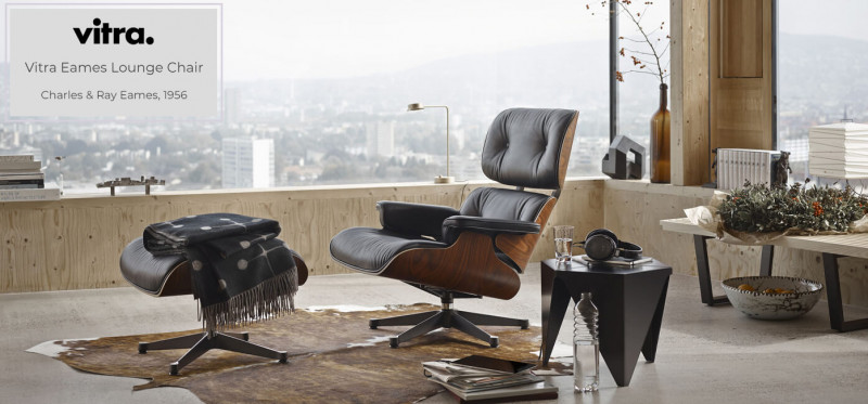Vitra Eames Lounge Chair und Ottoman