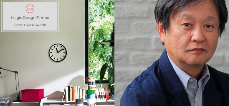 Magis Design Tempo Wanduhr minimalistisch