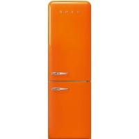 SMEG Retro-Style Kuehl- & Gefrierkombination orange FAB32ROR3 / FAB32LOR3