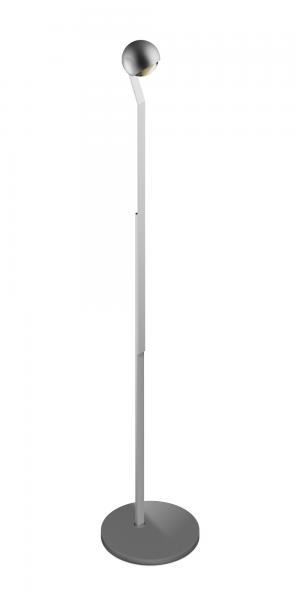 Occhio io LED Lettura Steh- & Leseleuchte chrom matt