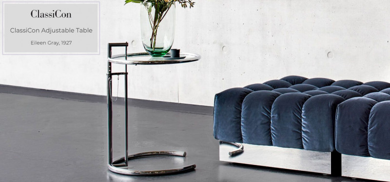 ClassiCon Adjustable Table Beistelltisch Eileen Gray