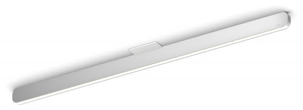 Occhio Mito Alto 100 cover wide Air-Steuerung Deckenleuchte silber matt