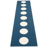 Pappelina Vera Ocean Blue 70x375cm Teppich & Badvorleger denim