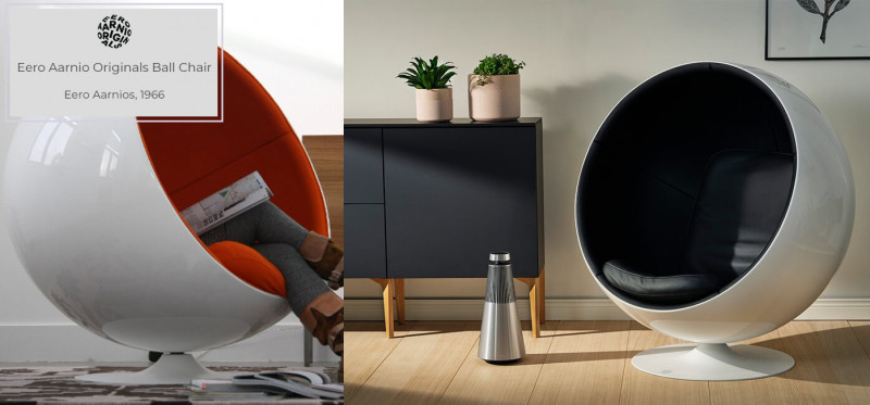 Eero Aarnio Originals Ball Chair design by Eero Aarnios
