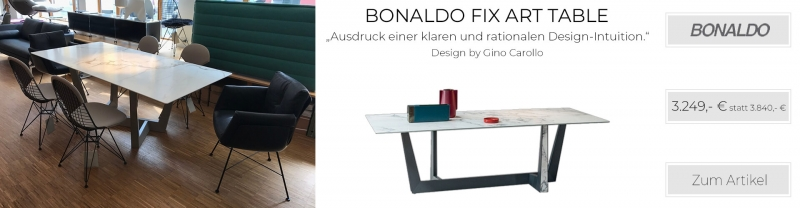 Bonaldo Fix Art Table Esstisch 200 x 100 cm