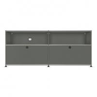 USM Haller Metallmöbel, individuell konfiguriert, B: 150 cm / H: 64 cm / T: 35 cm