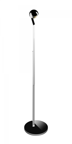 Occhio io LED Lettura Steh- & Leseleuchte chrom