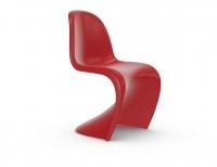 Vitra Panton Chair classic red (neue Höhe) Freischwinger-Stuhl