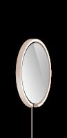 Occhio Mito Sfera Corda 40 Wide mit klarem Spiegel & externes Stromkabel gold matt