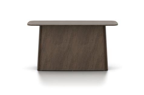 Vitra Wooden Side Table Beistelltisch gross Nussbaum pigmentiert