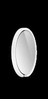Occhio Mito Sfera 40 Wide mit klarem Spiegel weiß matt