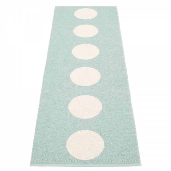 Pappelina Vera Pale Turquoise 70x225 Teppich & Badvorleger t