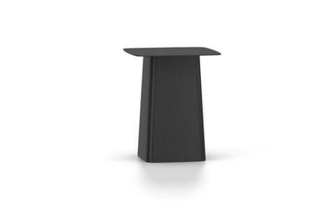 Vitra Metal Side Table Beistelltisch klein schwarz (outdoorfähig)