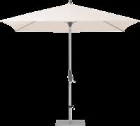 Glatz AG Sonnenschirm ALU TWIST rechteckig, mit 40 kg Stahlsockel, Standrohr in Edelstahl