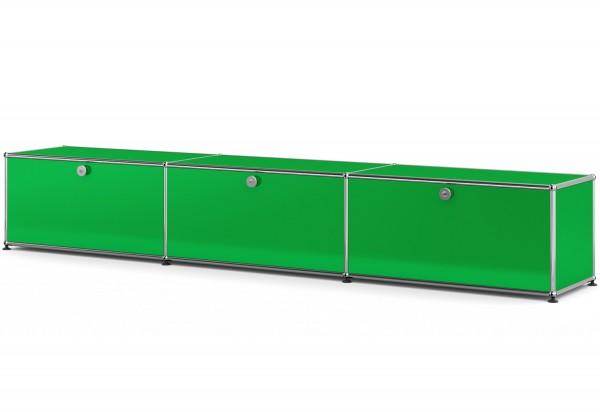 USM Haller Lowboard mit 3 Schubkaesten USM gruen
