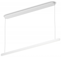 Occhio Mito Volo Linear 140 Up wide Pendelleuchte weiss
