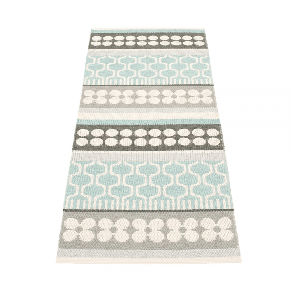 Pappelina Asta Pale Turquoise 70x180 Teppich & Badvorleger t
