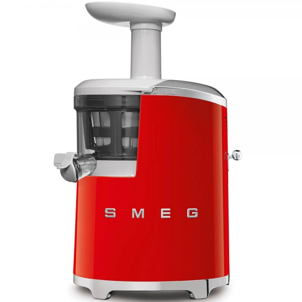 SMEG Retro-Style Slow Juicer Entsafter SJF01RDEU rot
