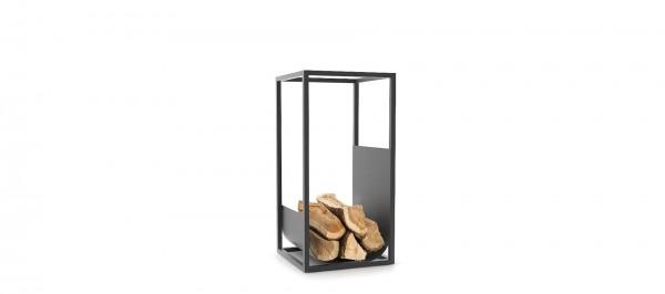 CONMOTO CUBE Brennholzregal Stahl schwarz