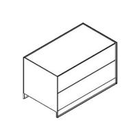 Möller Design LEAN BOX K902S Kommode mit 2 Schubkästen Lack matt