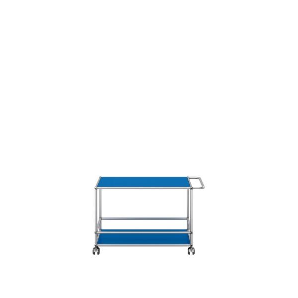 USM Haller Servierwagen enzianblau