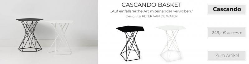 Cascando Basket Beistelltisch Stahldraht