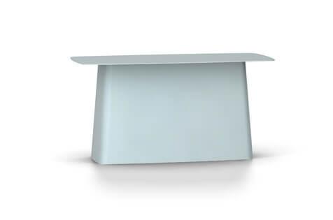 Vitra Metal Side Table Beistelltisch gross eisgrau (outdoorfähig)