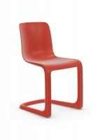 Vitra EVO-C Freischwingerstuhl von Jasper Morrison poppy red