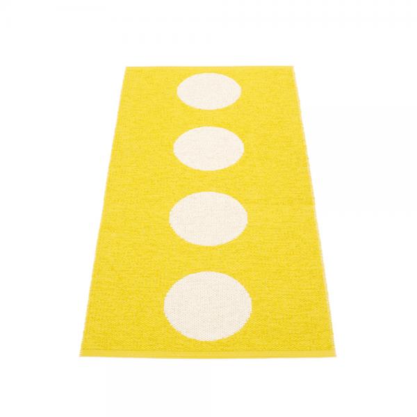 Pappelina Vera Lemon 70x150 Teppich & Badvorleger gelb