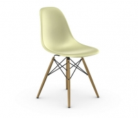 Vitra Eames Fiberglass Side Chair DSW parchment UG: Ahorn gelblich