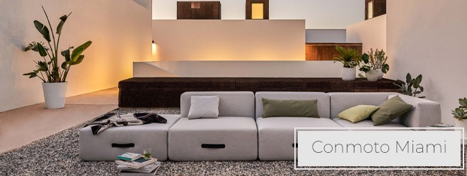 Conmoto Miami Outdoorlounge Loungemöbel für den Garten