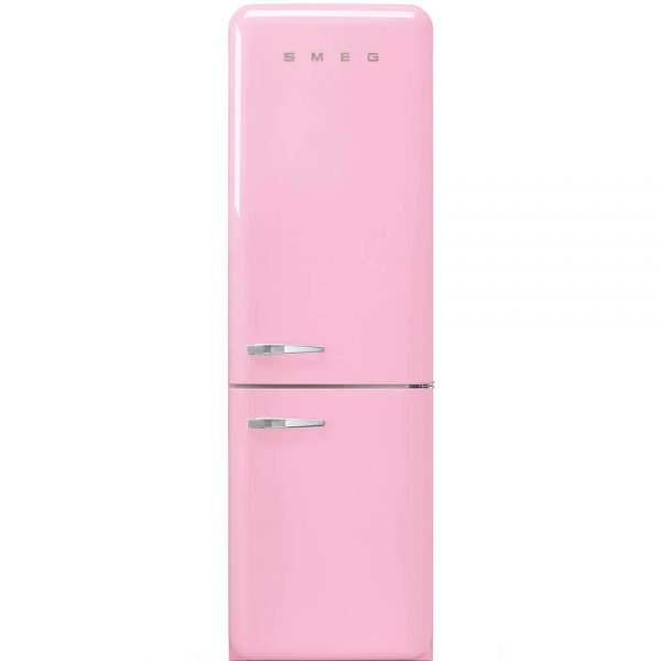 SMEG Retro-Style Kuehl- & Gefrierkombination cadillac pink FAB32RPK3 / FAB32LPK3