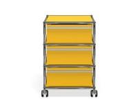 USM Haller Rollcontainer gelb