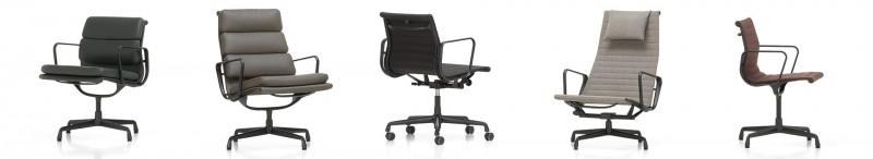 Vitra Aluminium Chair und Soft Pad Chair Upgrade Kampagne