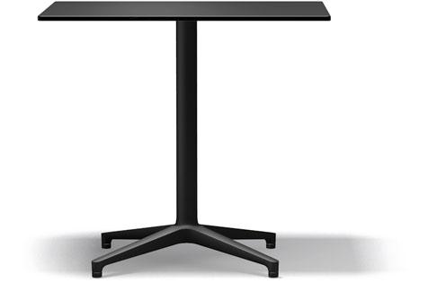 Vitra Bistro Table indoor und outdoor geeignet 80 x 64 x 72 cm schwarz/schwarz
