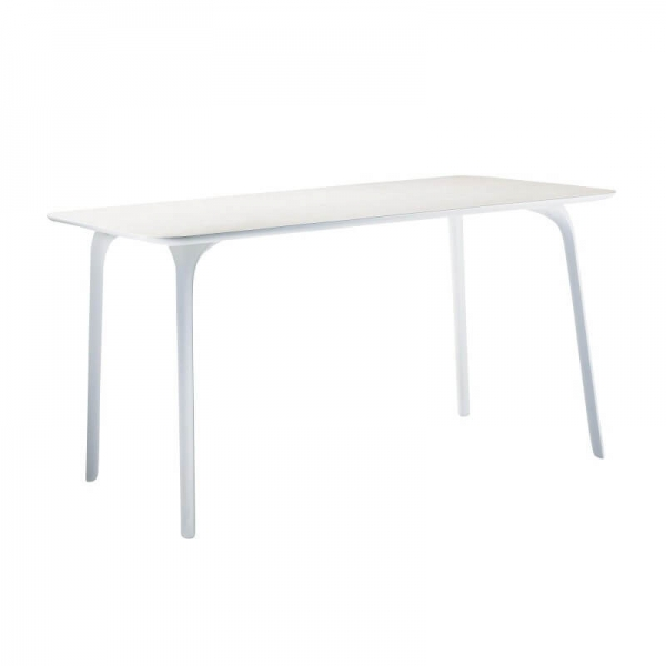 Magis Design Table First Outdoor Esstisch rechteckig 140 x 79 x 73 cm weiss