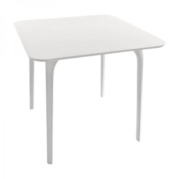 Magis Design Table First Esstisch rechteckig 79 x 79 x 73 cm weiss