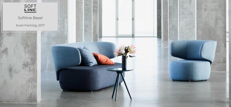 Softline Basel Sofa dänisches Design