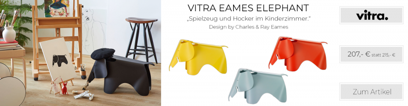 Vitra Eames Elephant Hocker
