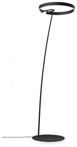 Occhio Mito Raggio 60 Wide Air-Steuerung Stehleuchte schwarz